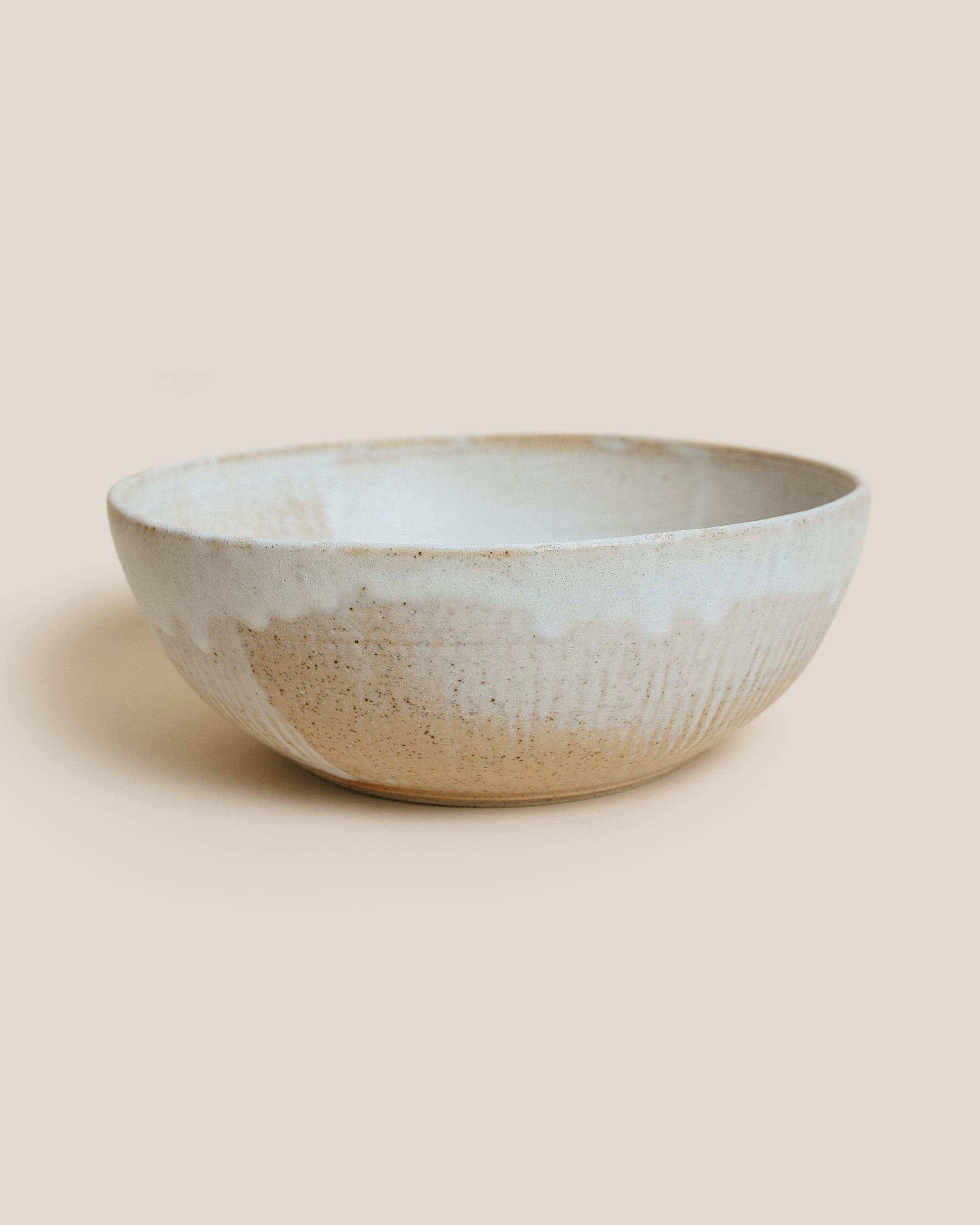 Gingko Ceramics White Bowl