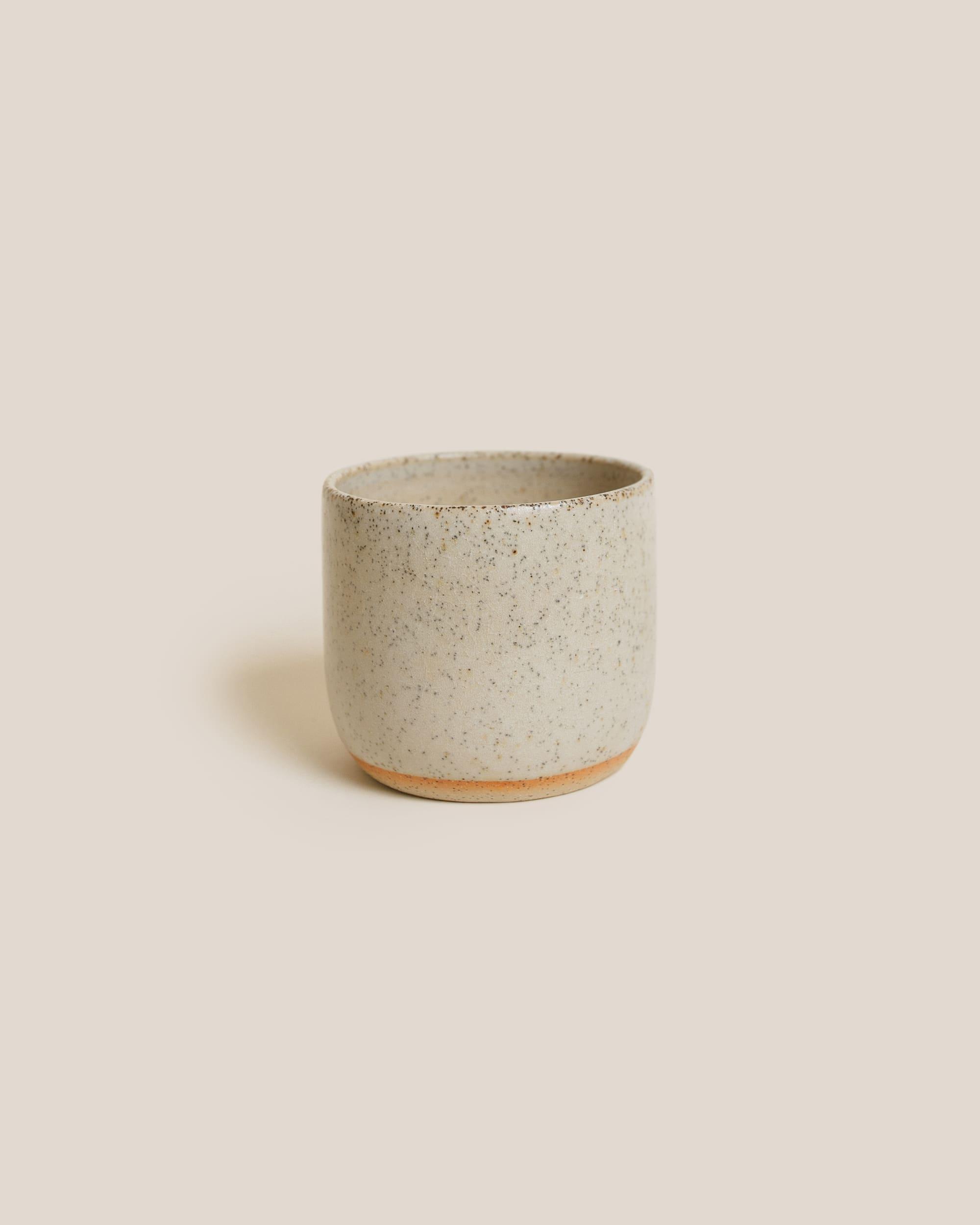 Gingko Ceramics White Glazed Tumbler
