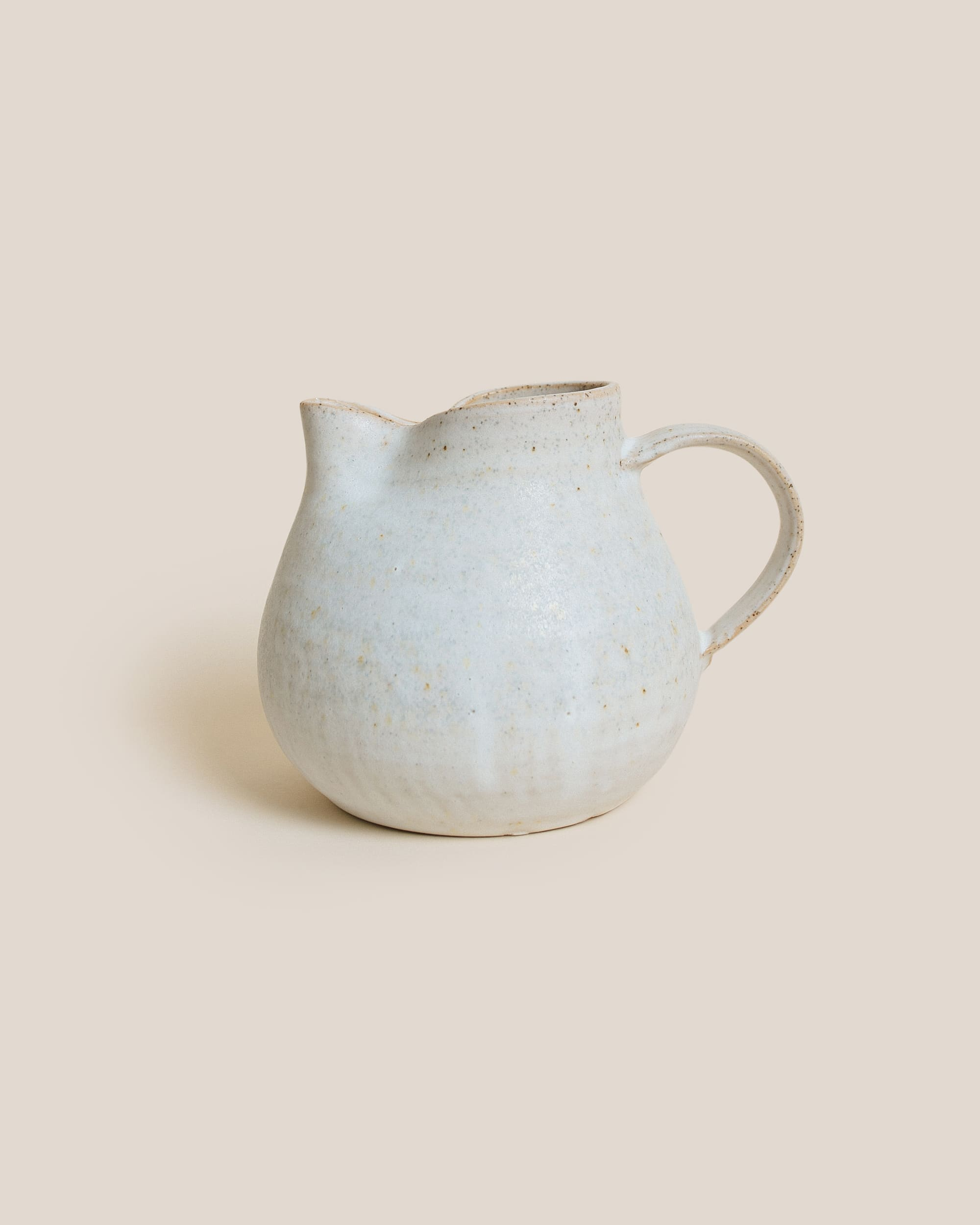 Gingko Ceramics White Jug