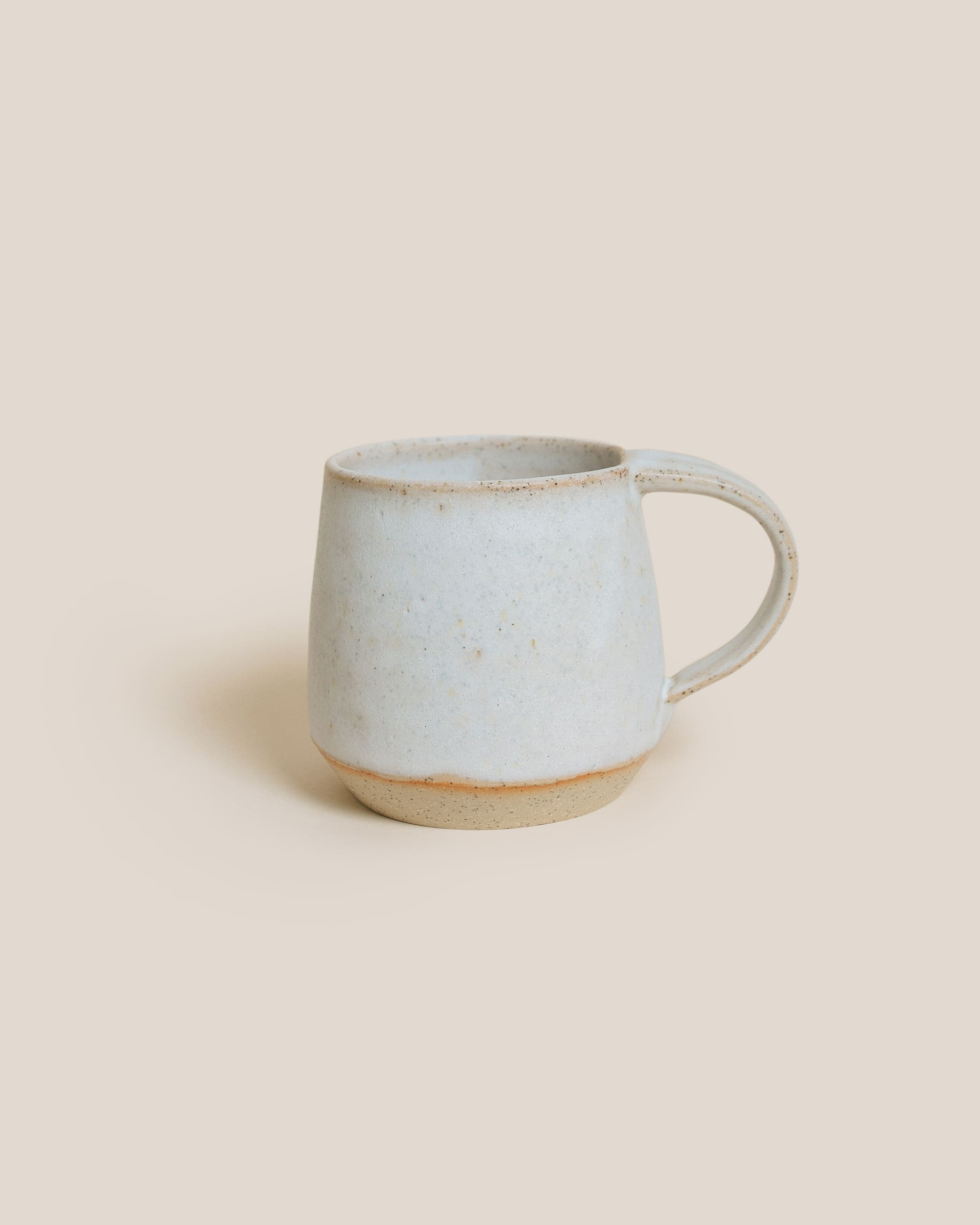 Gingko Ceramics White Mug