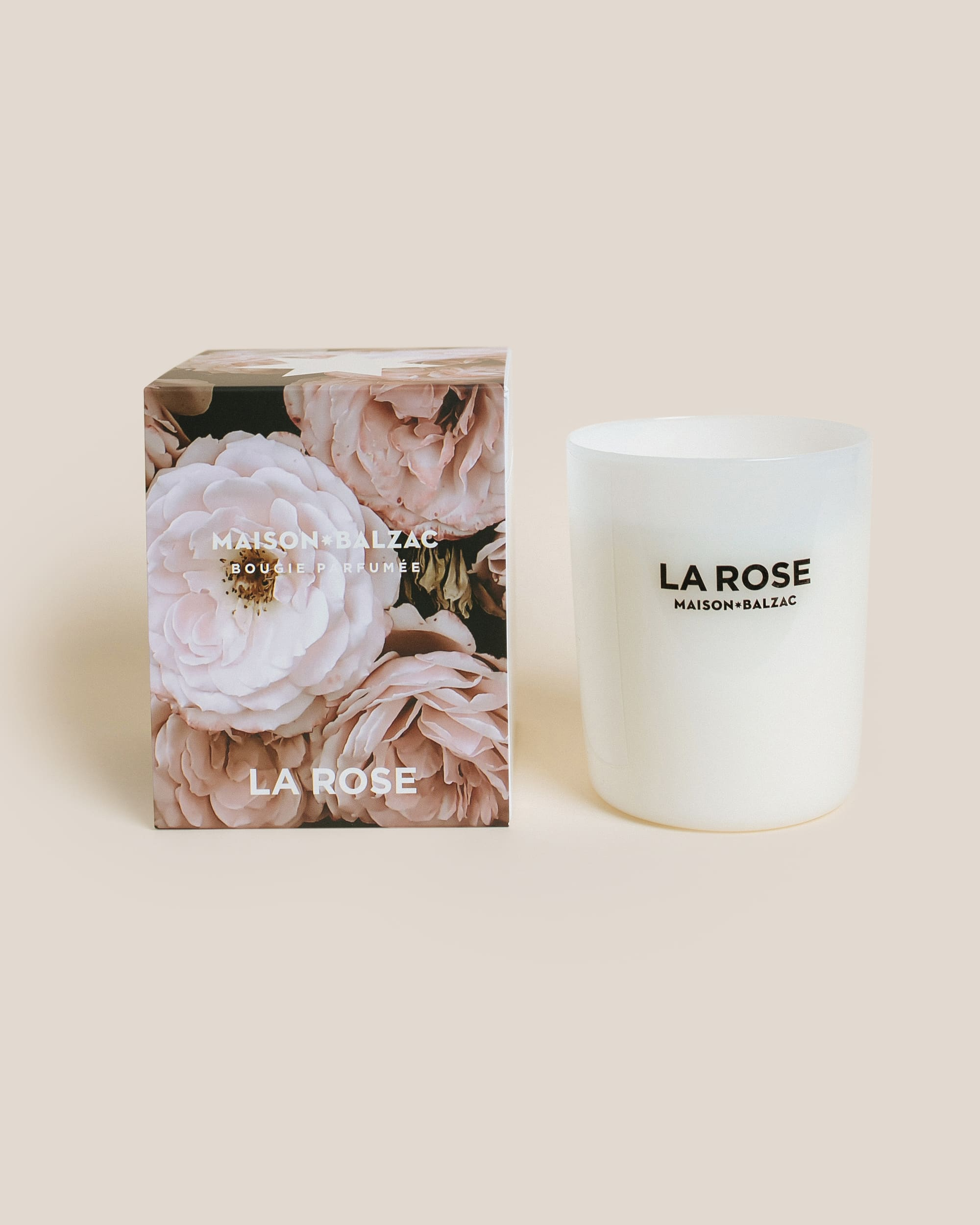Maison Balzac Large La Rose Soy Candle
