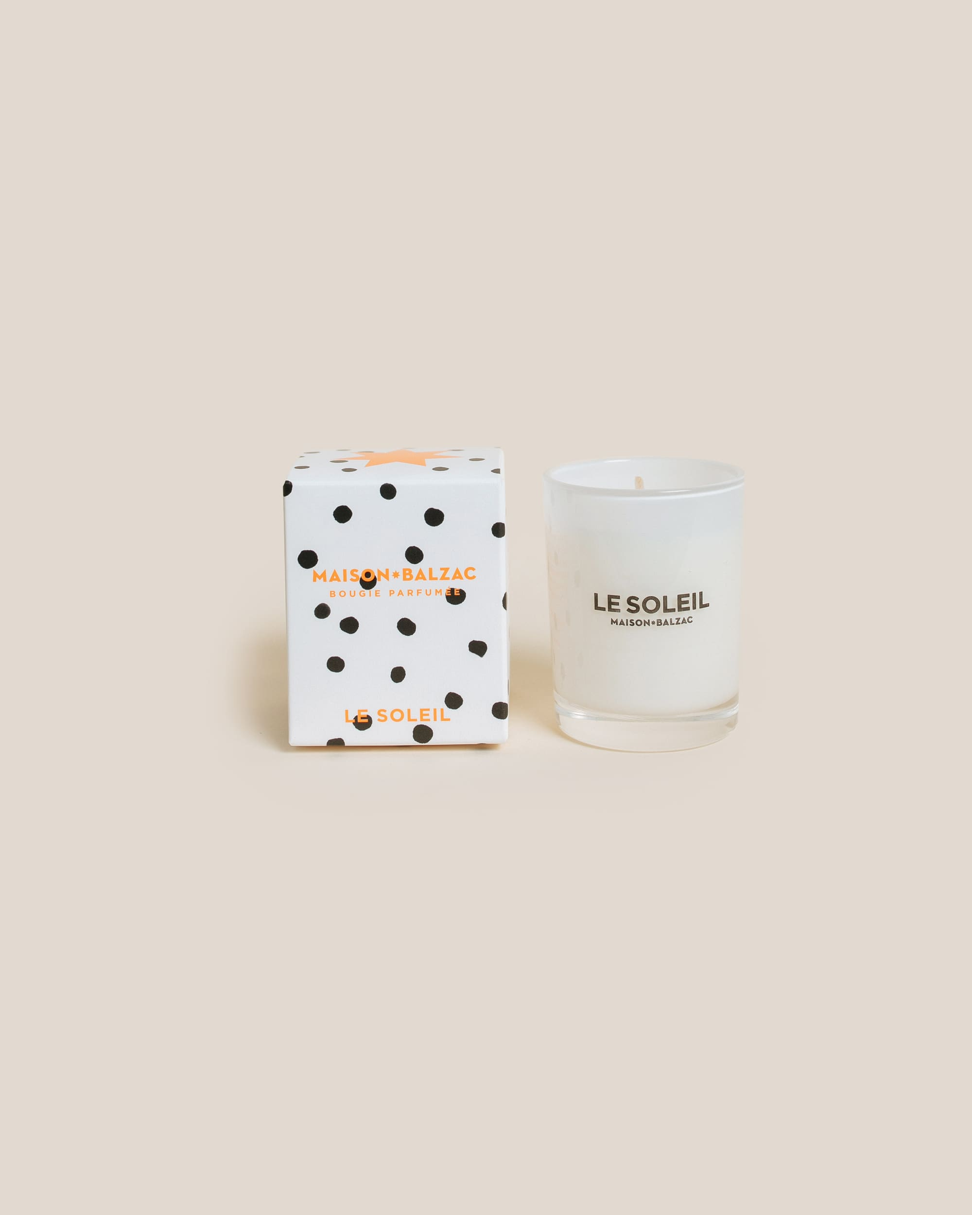 Maison Balzac Small Le Soleil Soy Candle